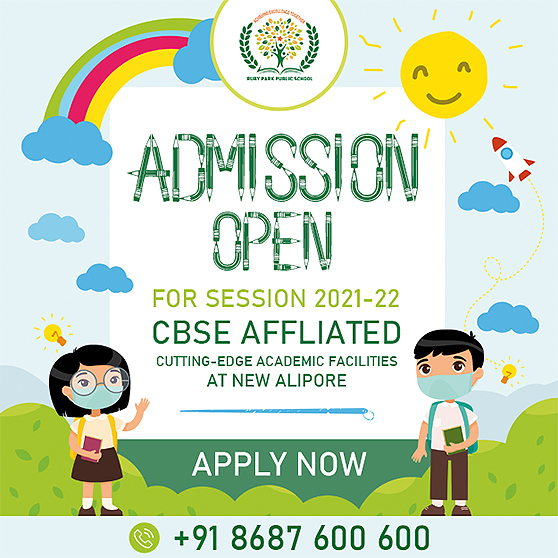 Online admission in progress for Session 2021-22