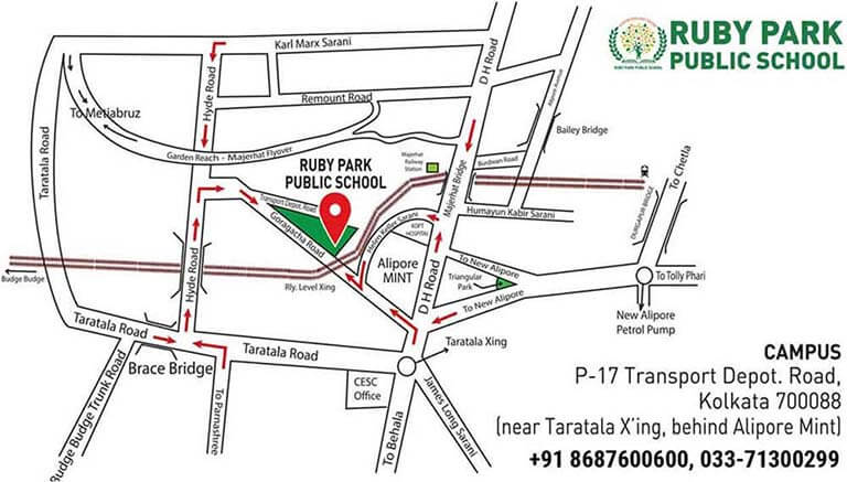 Ruby Park Public School location map