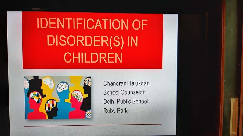 Identification of disorder(s) in children workshop