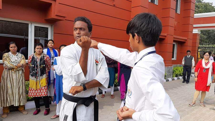 Workshop on Karate Training and Self Defense