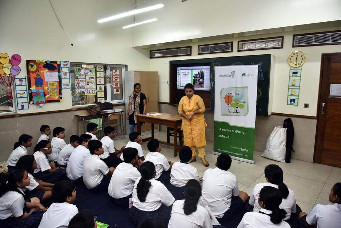 A Workshop on Conserve My Planet