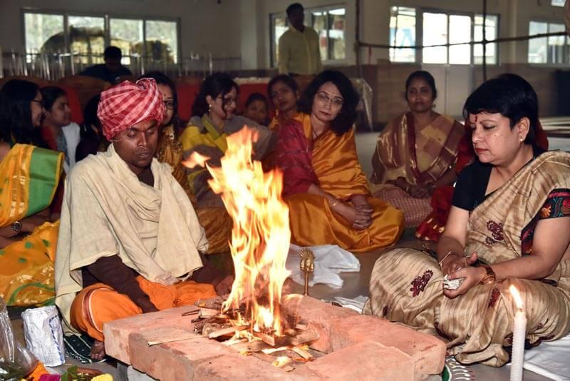 Saraswati Puja Celebration