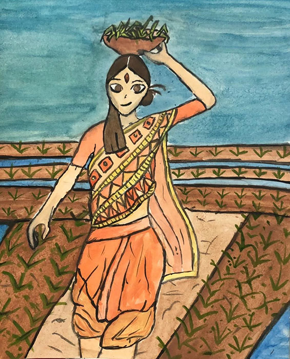 Durga Puja Assembly - Art Work Slide Show 2020